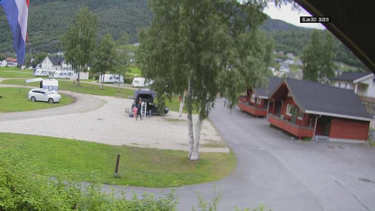 Webkamera Røldal Skisenter   Camping